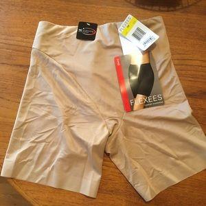 Flexees shapewear shorts.